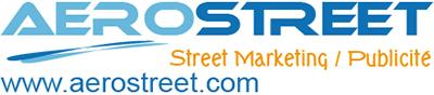 Ballon publicitaire sur sac à dos street Marketing